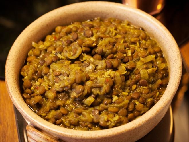 indian coconut lentil curry
