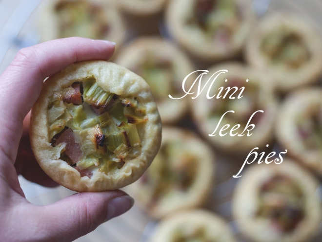 mini leek pie recipe