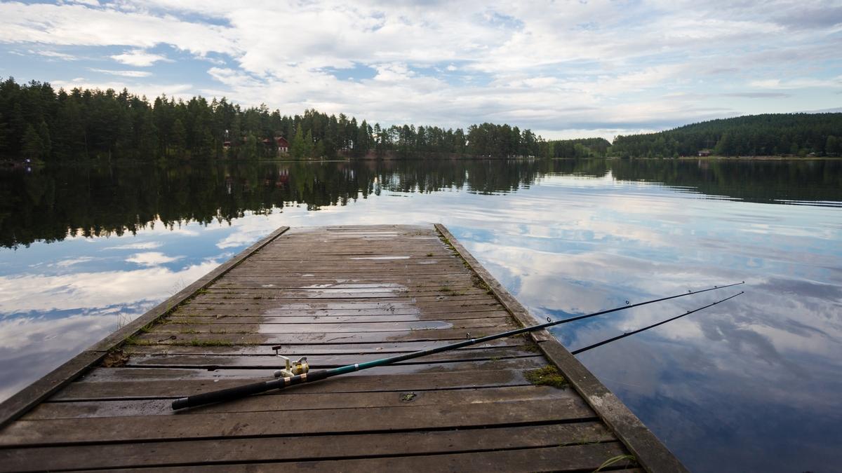 fishing in dalarna sweden